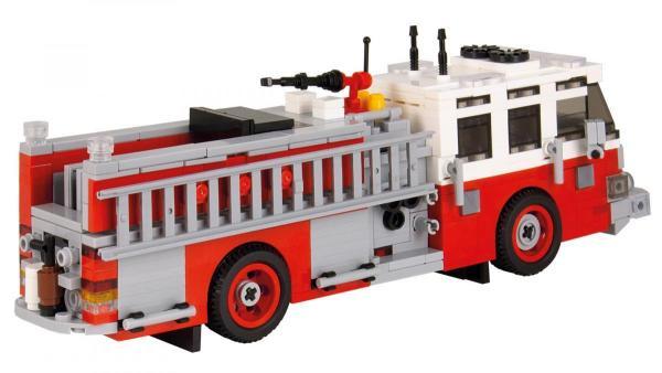 Pierce Quantum Pumper Version 2 red/white