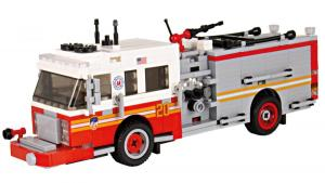 Spartan ERV Pumper Version 3 Rot/Weiss