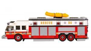 Feuerwehr Commander Heavy Rescue rot/weiß