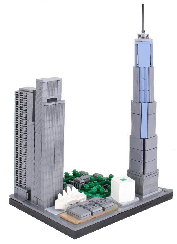 BlueBrixx - Specials - 100870 - Manhattan Unit 7 World Trade