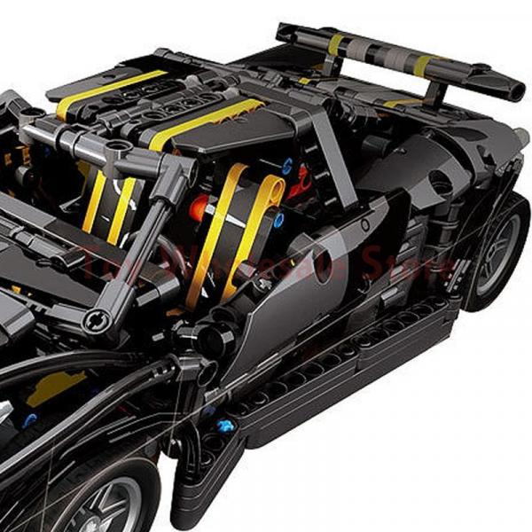 The Balisong small Supercar in black