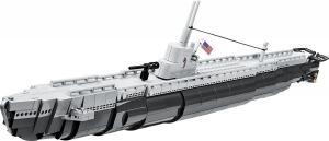 Gato Class Submarine - Uss Wahoo/SS238, Grau/Schwarz