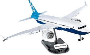Boeing 737 8 Max, Weiß/Blau