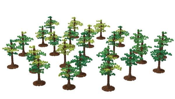 24 Bäume