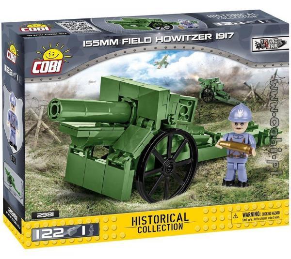 155 mm Field Howitzer 1917