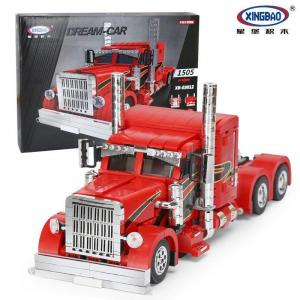 American Truck Red Monster