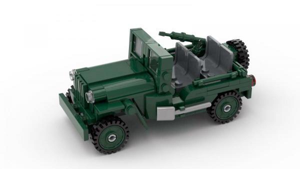 Jeep US Army, 2. Weltkrieg, LWB