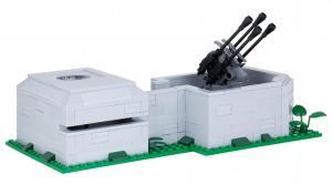 Bunker mit Flakstellung