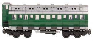 Classic passenger car with braker