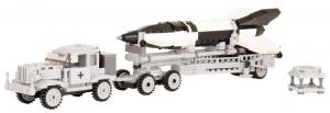 Hanomag with V2 rocket and launch ramp