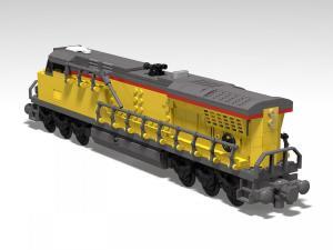 Lokomotive GE ES44AC Gelb