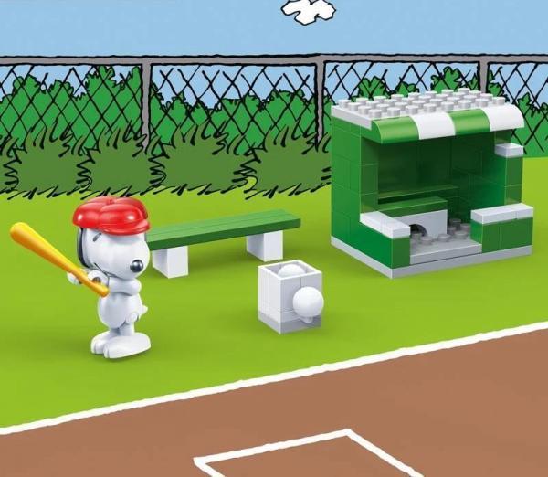 Snoopy Baseballplatz