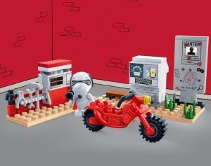 Snoopy Motorrad Werkstatt
