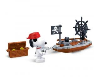 Snoopy pirate ship