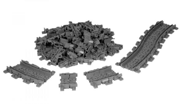 Flexible Train Track set, 64 pcs