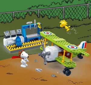 Snoopy Pilot & Flugzeug