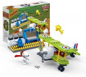 Snoopy Pilot & Aircraft
