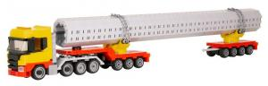 Truck Sweden 4-3-4 Axle with long loading