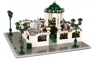 Park with Pavillon