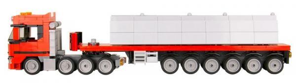 LKW Schweden 4 Achsen mit Betonplatten