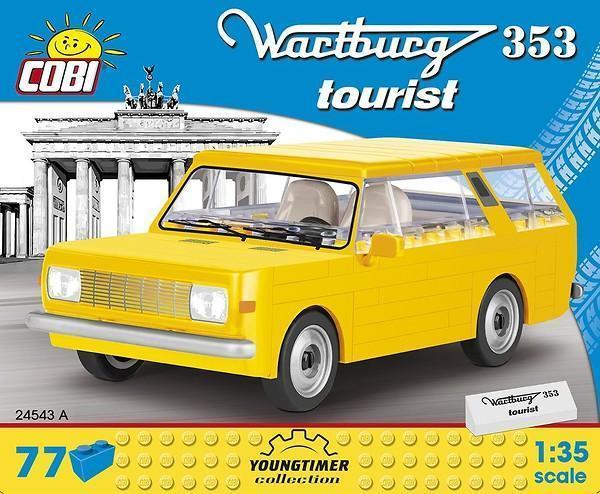 Wartburg 353 Tourist, gelb