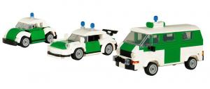 german Police Cars set of 3