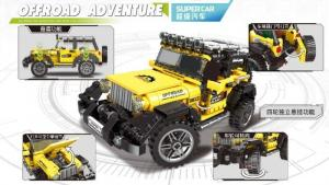 Offroad Car in yellow