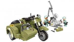 Military Bike with Sidecar