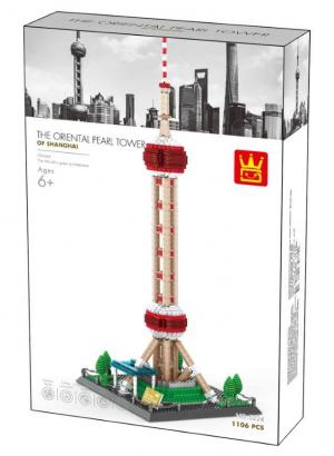 The Oriental Pearl Tower, Shanghai China