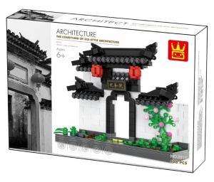 Chinesisches Eingangstor im Hui-Stil