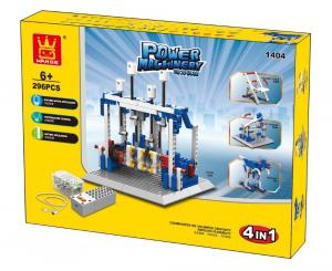 Power machinery - Generator 4 in 1