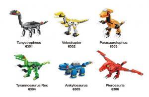 Assortment, Capsule Dinosaurs series