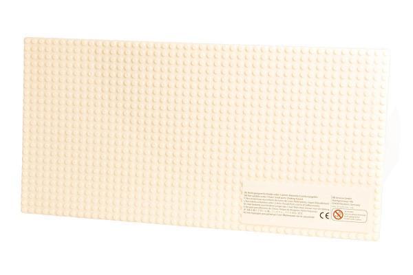 Plate 24x48, creamy white