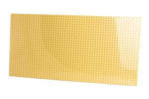 Grundplatte 28x56, Sandgelb
