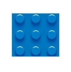 Plate 28x56, Blue