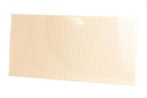 Plate 28x56, creamy white