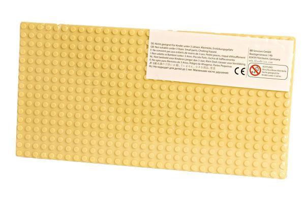 Plate 16x32, Sandy Yellow