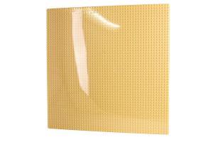 Grundplatte 50x50, Sandgelb