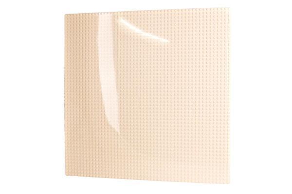 Grundplatte 50x50, cremeweiß