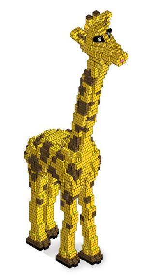 200cm hight Giraffe