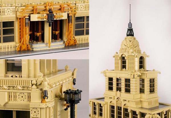 Skyscrapers in Art Deco style