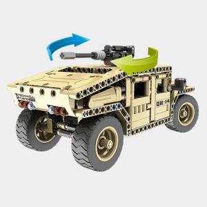 Ferngesteuerter Militär-Geländewagen 2.4G 4CH - 2in1 Modell