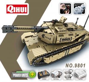 R/C Battle Tank 2.4G 8CH.