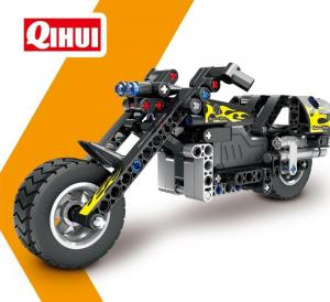 Pull Back Motorbike