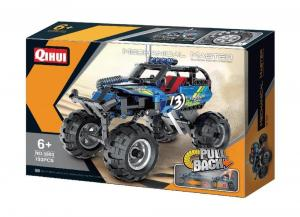 Pull Back Off-Road Monster Truck in blau