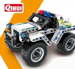 Pull Back Polizei Auto