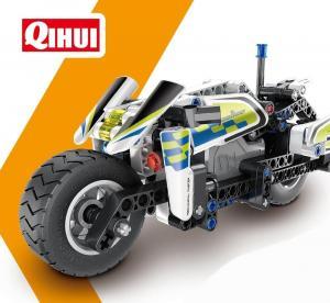 Pull Back Police Motorbike