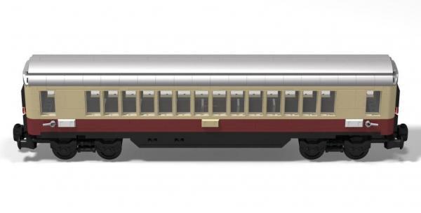Train passenger trolley Rheingold DB