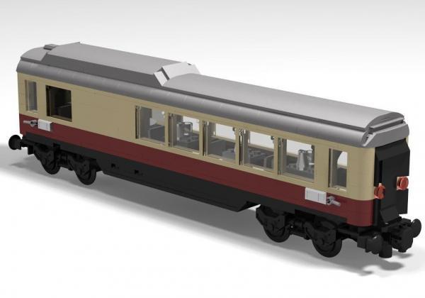 Rheingold DB Buckelspeisewagen