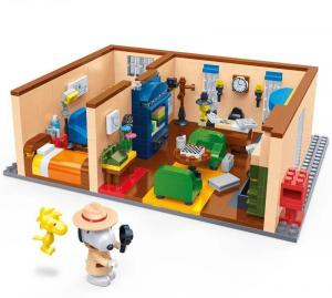 Snoopy Secret Agent living room
